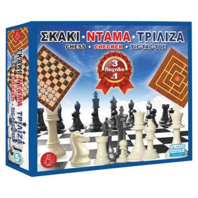 Σκάκι Ντάμα Τρίλιζα