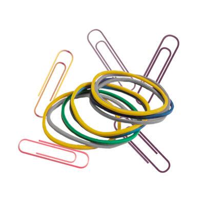 Συνδετήρες - Λάστιχα