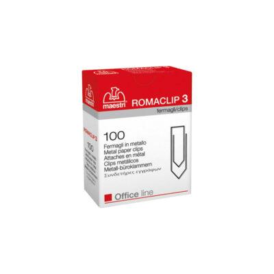 Romeo Maestri Romaclip No.3 Μεταλλικοι 30mm 100τμχ
